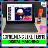 Combining Like Terms Activity for Google Drive™ Distance Learning