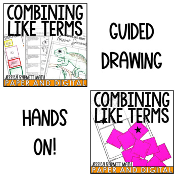 Combining Like Terms Lesson Bundle