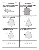 Combining Like Terms, Perimeter, and Solving Equations