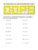 Combining Like Terms Riddle Worksheet
