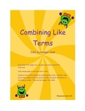 Combining Like Terms Scavenger Hunt
