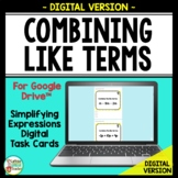 Combining Like Terms Simplifying Expressions DIGITAL Googl