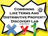 Combining Like Term Lesson & Distributive Property Lesson