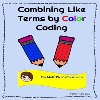 Combining Like Terms with Color Coding