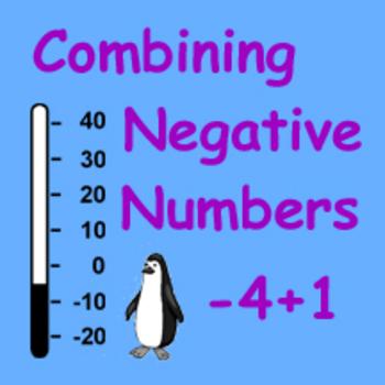 Combining Negative Numbers