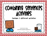 Combining Sentences Activities (STAAR ALIGNED)
