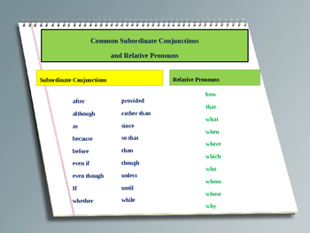 Combining Sentences:  Dependent and Independent Clauses