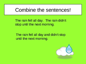 Combining Sentences Power Point Presentation