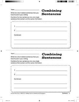 Combining Sentences: Put Them Together