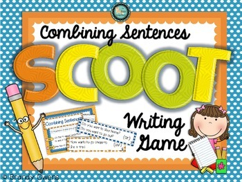 Combining Sentences SCOOT Writing Game