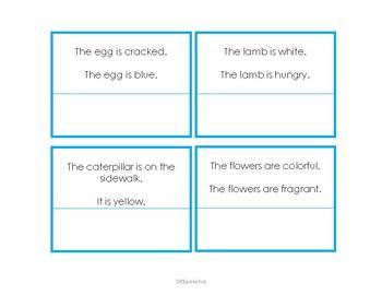 Combining Sentences Spring Edition