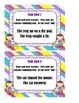 Combining Sentences - Task Cards