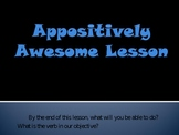 Combining Sentences Using Apositives PPT