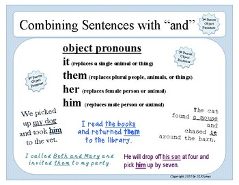 Combining Sentences with AND