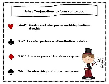 Combining Sentences with Conjunctions - It's like being a Magician!