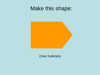 Combining Shapes Using Tangram Puzzles PowerPoint