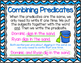Combining Subjects and Predicates Task Cards and Posters
