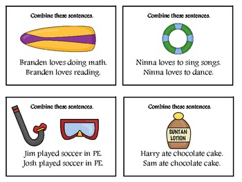 Combining Two Sentences