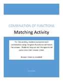 Combining functions matching activity