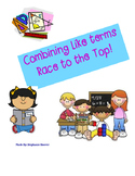 Combining like terms Race to the Top