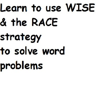 Combining strategies to solve word problems