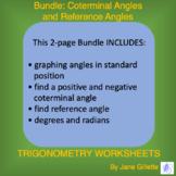 Combo: Coterminal Angles and Reference Angles
