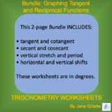 Bundle: Graphing Tangent and Reciprocal Functions