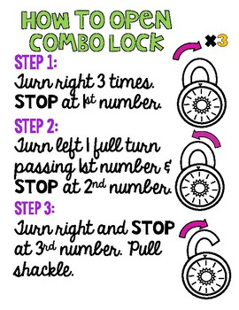 Combo Lock Practice
