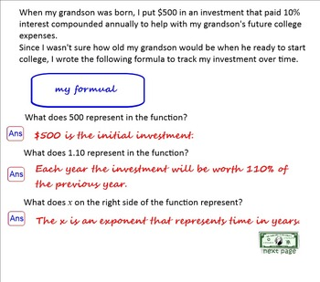 Combo Pack: Simple Interest vs Compound Interest, Appreciation and Depreciation