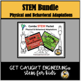 Adaptations  Physical & Behavioral STEM Activities Bundle