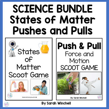 States of Matter & Forces and Motion Scoot Game Combo Pack