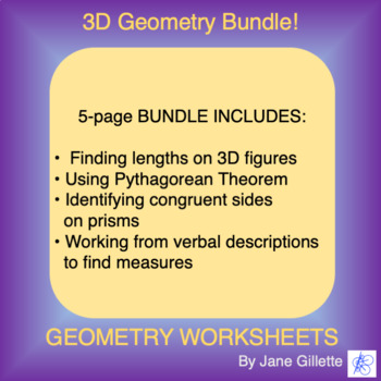 Combo Set 3D Geometry