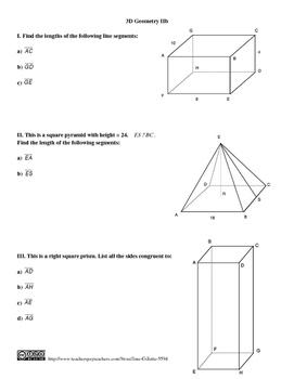 Bundle: 3D Geometry