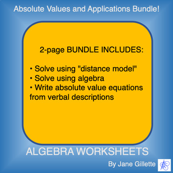 Bundle: Absolute Values and Applications