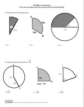 Combo Set: Arcs and Sectors