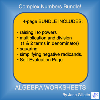 Combo Set: Complex Numbers