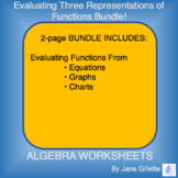 Bundle: Evaluating Three Representations of Functions