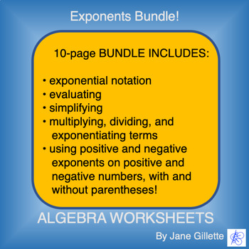 Combo Set: Exponents
