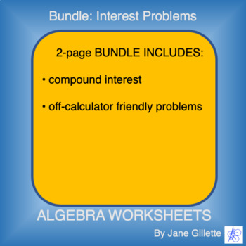 Bundle: Interest Problems