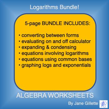 Bundle: Logarithms