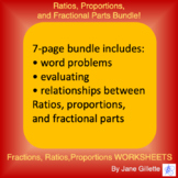 Bundle: Ratios, Proportions, and Fractional Parts