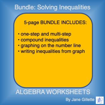 Bundle: Solving Inequalities