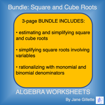 Bundle: Square and Cube Roots