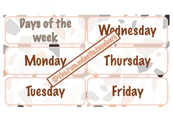 Combo days of the week