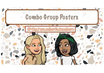 Combo group posters