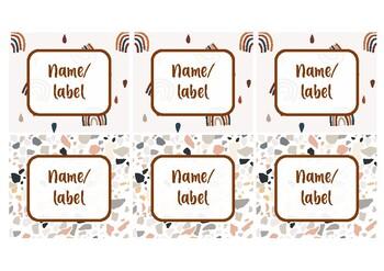 Combo labels