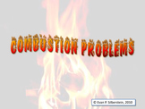 Combustion Problems