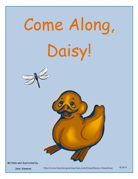 Come Along, Daisy! by Jane Simmons spring unit printables and graphic organizers