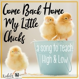 Come Back Home My Little Chicks: Kodaly slides for preparing so-mi