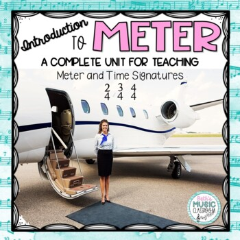 Come Fly With Meter! Introduction to Meter & Time Signature - Elementary Music